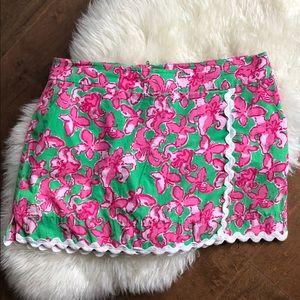Lily pulitzer pink skort